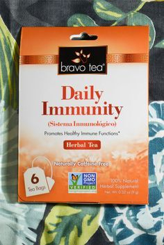 Tea is often seen as something nice to sip on when it's cold outside. That's true but Daily Immunity tea may also help keep your immune system strong, decreasing your likelihood of getting sick.