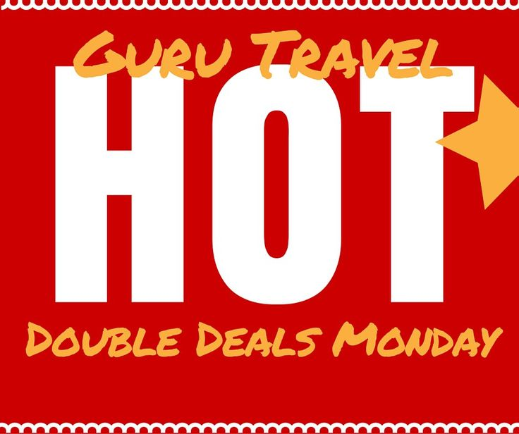 Double Disney Deals Monday! See our special offer. www.thewdwguru.com