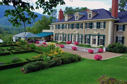 Hildene (Home Of Robert Todd Lincoln) In Manchester, Vermont. Abraham Lincoln's only son lived in this house.