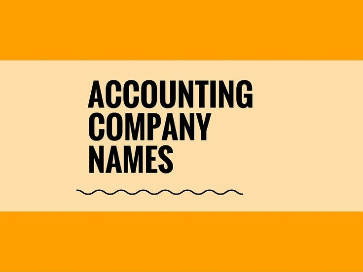 A Creative name is the most important function of Every Company. Check Creative Accounting Company names ideas for your Inspiration.
