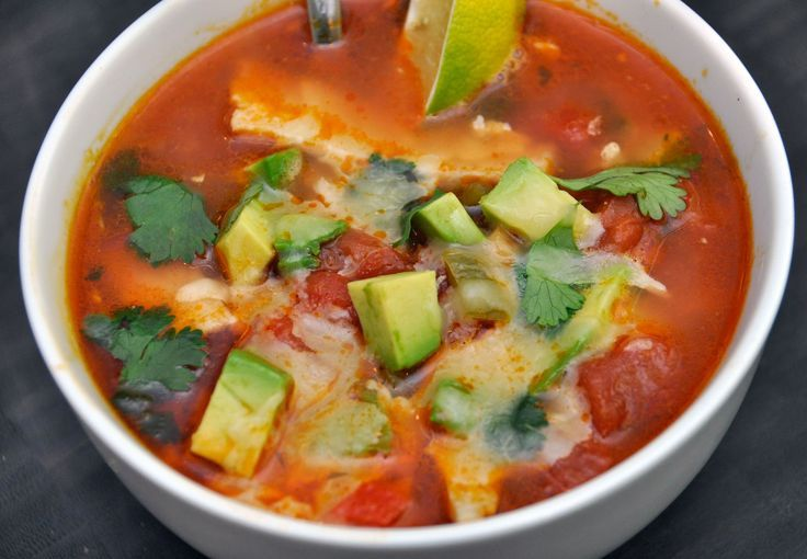 "Recipe: Chicken Tortilla Soup. | All about ""Food"" 