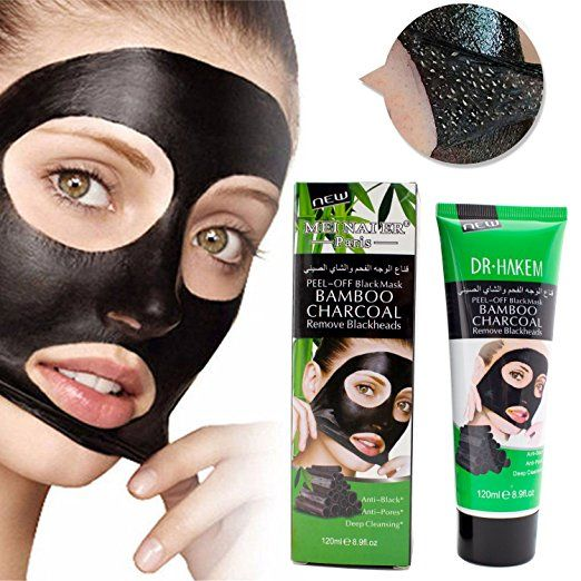 Blackhead Remover Mask,Cleansing Blackhead Mud Face Mask,Peel off Strip Mask For Face Nose Acne Treatment Acne Oil Control(120ml)