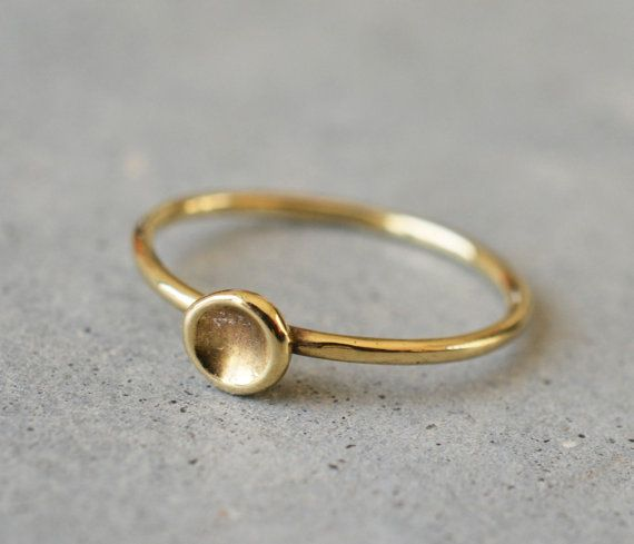 14k gold ring, 14k solid gold, gold ring, 14k yellow gold ring, Wedding Band, go…   – Products