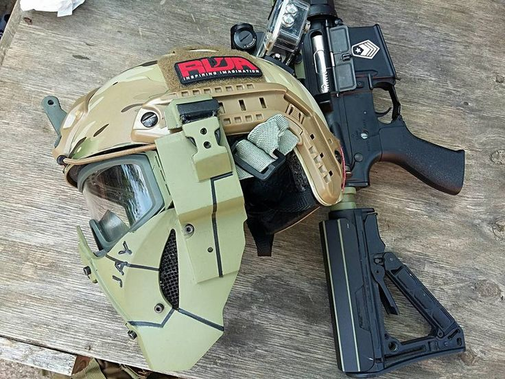 Airsoft FAST MASK - 3D CAD model - GrabCAD