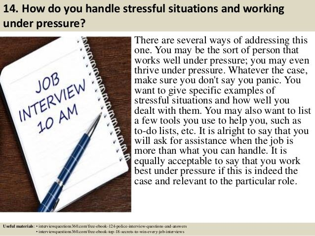 124 police interview questions and answers pdf – Shena Williams