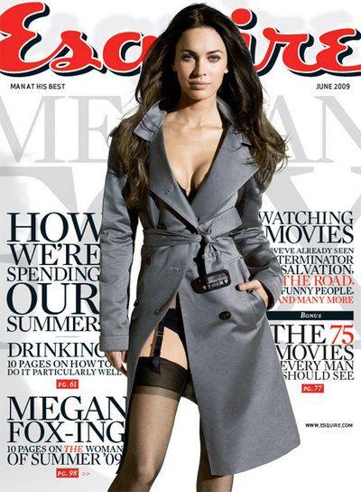 copertina Esquire.