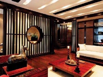 Oriental chinese interior design asian inspired living - Asian inspired home decor ...