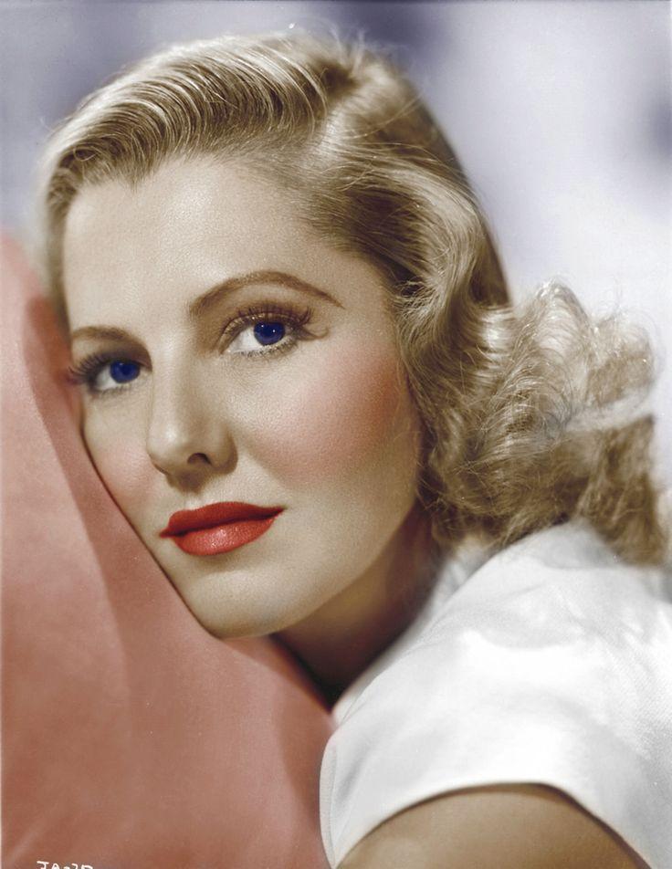 Jean Arthur (Color by Brenda J Mills)