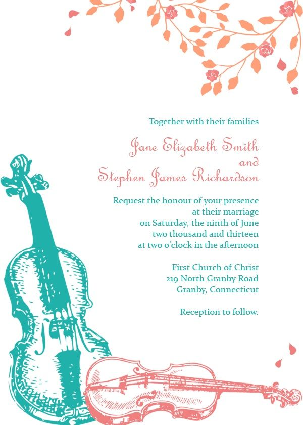 42 best Free Wedding Invitations For Sister images on Pinterest ...