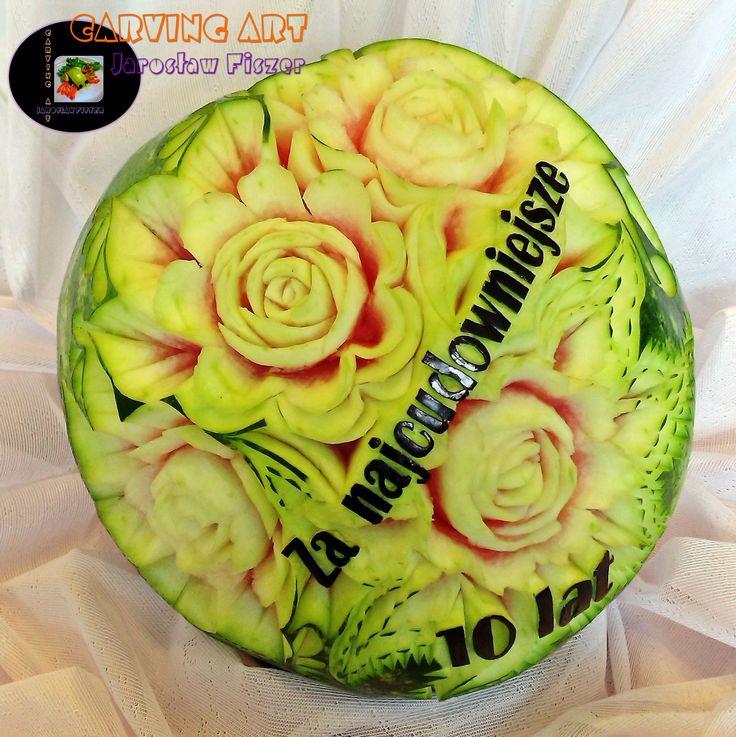 A oto arbuz rocznicowy :)