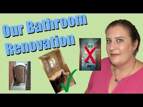 No Toilet For A Month! ~ Our Bathroom Renovation Experience - YouTube
