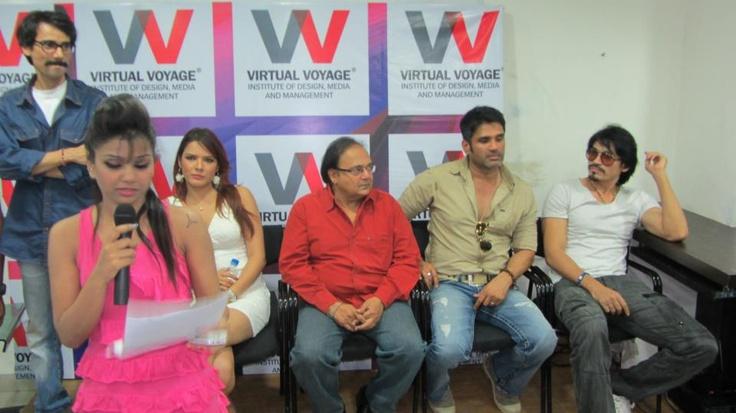 Celebrities promoting their upcoming movie 'PICTURE ABHI BAKI HAI'