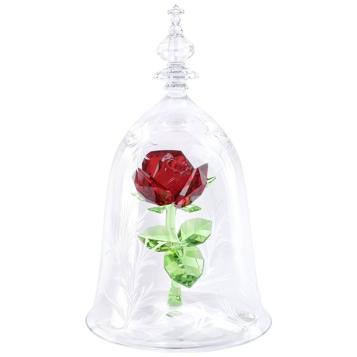 Swarovski Disney - Beauty and the Beast - Enchanted Rose, Limited Edition 2017
