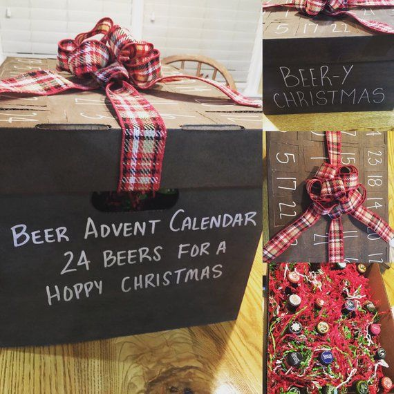 Craft Beer Advent Calendar Box Beer Is Supplied By Buyer This Advent Calendar Includes A Box W Craft Beer Advent Calendar Beer Advent Calendar Diy