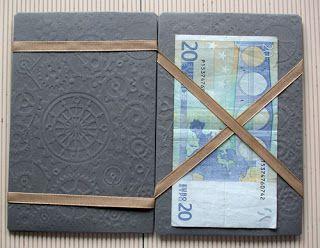 Anleitung für Zauberkarte... einmal ist der Schein auf der rechten Seite und dann wie von Zauberhand auf der linken... Individualisierbar, für Geld, Gutscheine, Fotos zu allen Anlässen...