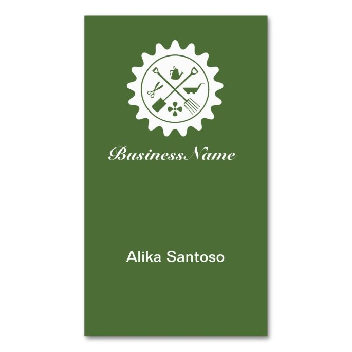 1976 best gardener business cards images on pinterest business gardening logo business card colourmoves