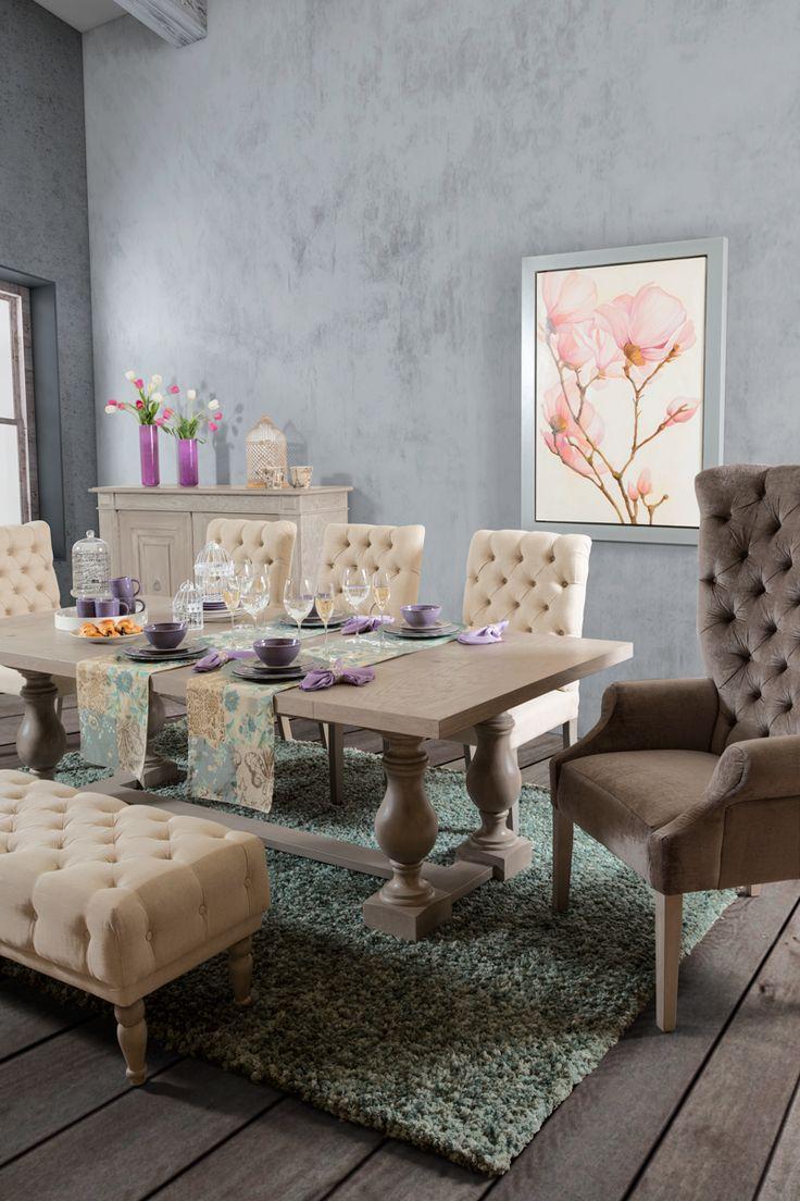 Elementos decorativos ornamentales llenos de novedad for Comedor vintage moderno