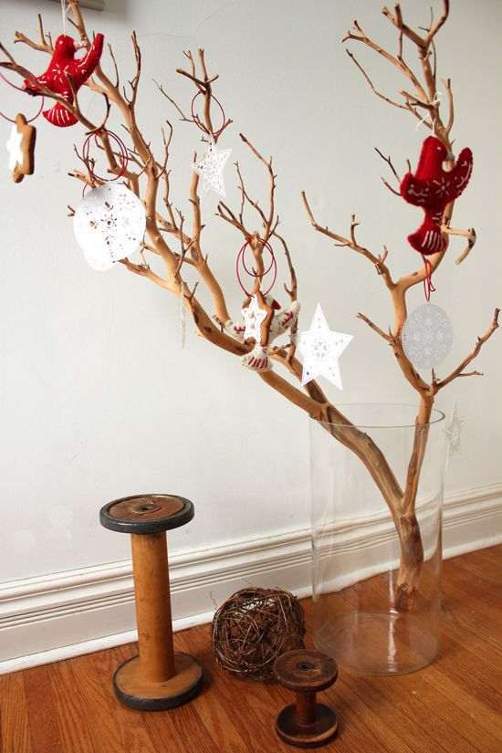 Twig Decorations 52 best twig tree decor images on pinterest   christmas ideas