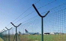 Grillage soudé, galvanisé et plastifié vert. Pour des applications hautes sécurité : industrie, aéroports, sites militaires, terrains de sport, écoles...