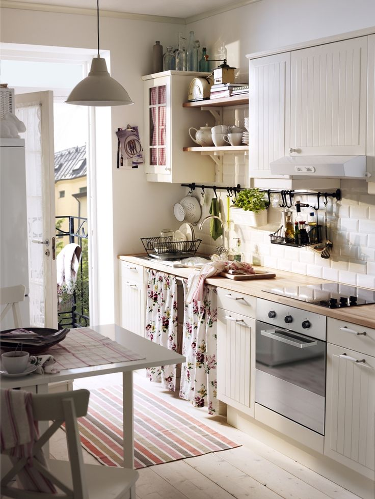 1000 ideas about white ikea kitchen on pinterest ikea for Cocinas rusticas ikea