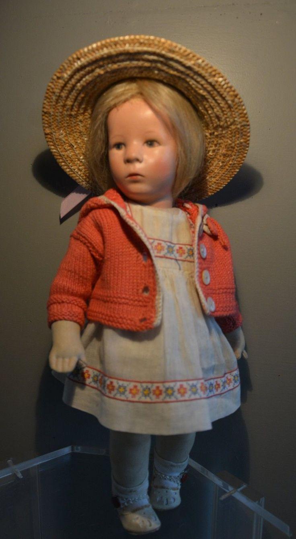 Alte Käthe Kruse Puppe!!! Stoffkopf!!! 1940-1950!!! | eBay