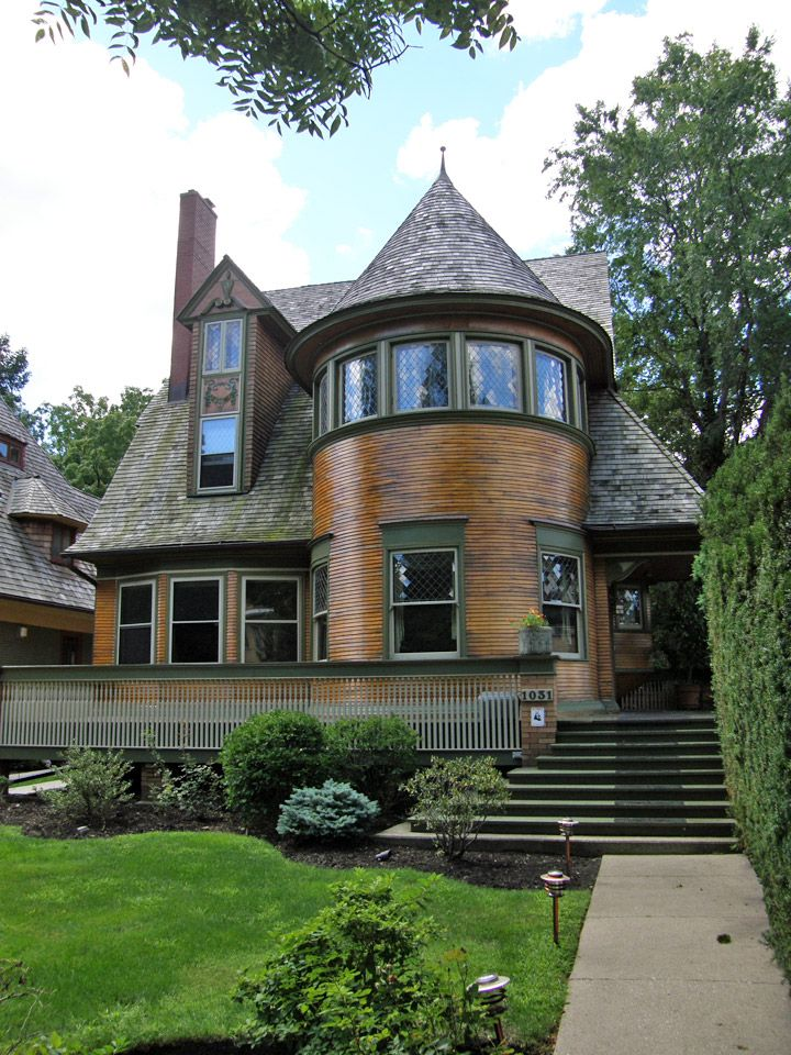 Walter H. Gale house 1893, Frank Lloyd Wright, Oak Park, Illinois