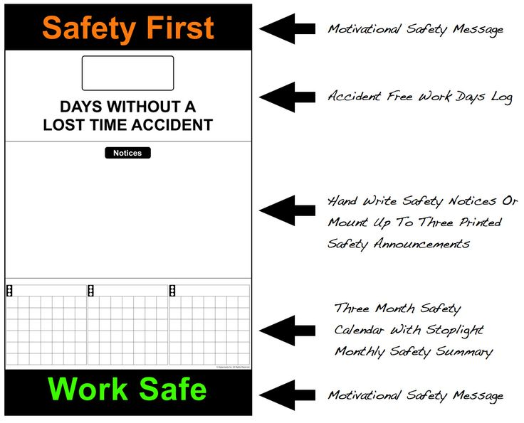 Safety Calendar Ideas : Best images about safety ideas on pinterest
