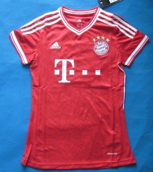 Bayern Munich 2013/2014 Camiseta de futbol Mujer [077] - €16.87 : Camisetas de futbol baratas online!