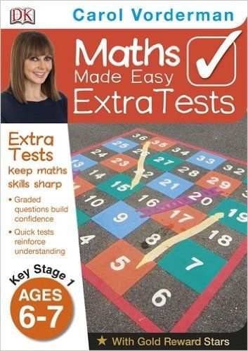 Maths Made Easy Extra Tests Age 6-7 (Carol Vorderman's Maths Made Easy): Amazon.co.uk: Carol Vorderman: 9781409323617: Books