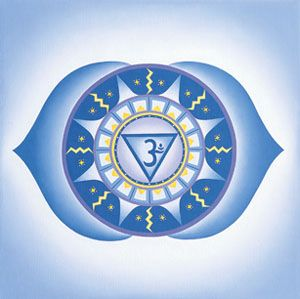 Шестая чакра отвечает за сознательное восприятие. Она управляет различными умственными способностями, памятью, силой воли и знанием. Именно эта чакра позволяет человеку подключаться к подсознанию, интуиции, дает способность понимать вселенную и принимать невербальные послания