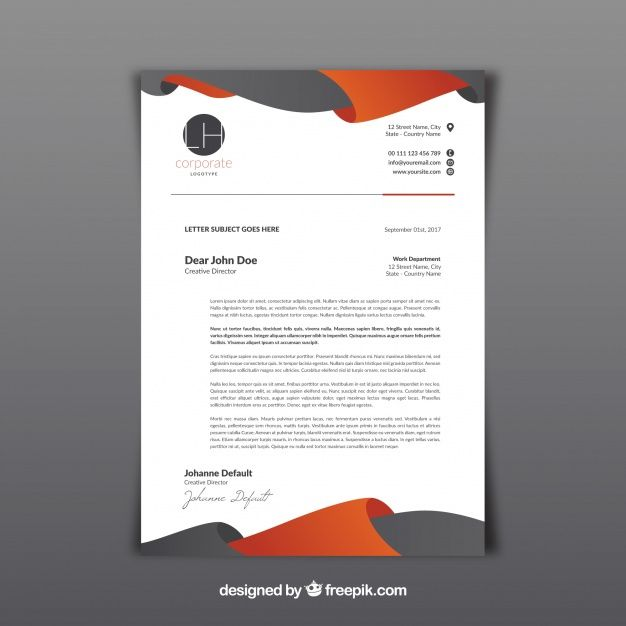 image result for letterhead template