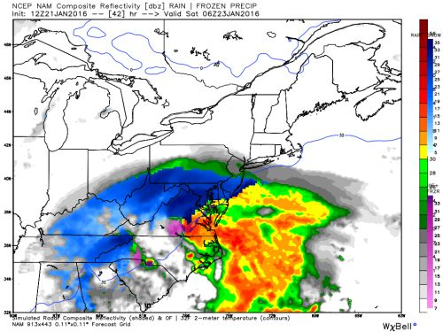 Blizzard Warning: High winds about two feet of snow forecast...