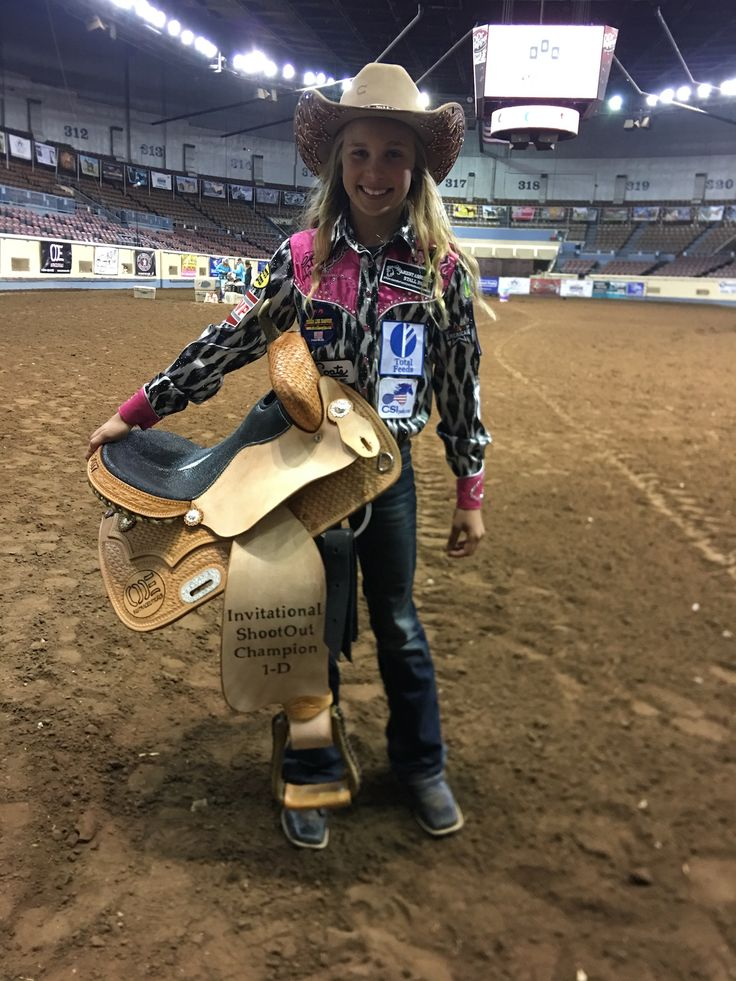Chayni Chamberlain Of Stephenville Texas Won The 2017