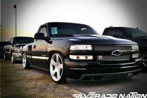 2002 Chevy Silverado. Camed & dropped.