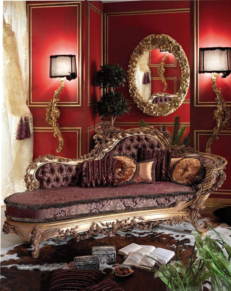 French Classic Chaise lounge