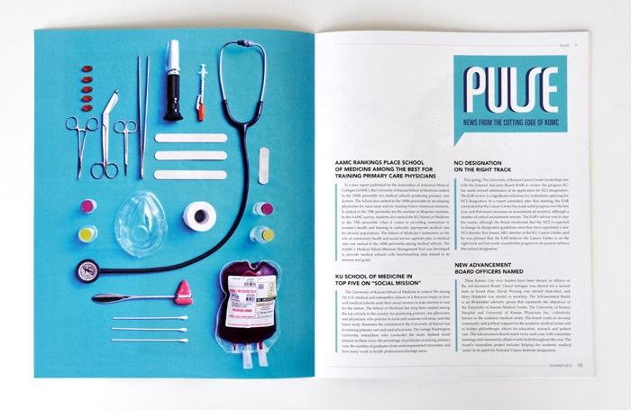 Redesign of Kansas University Medical Journal \
