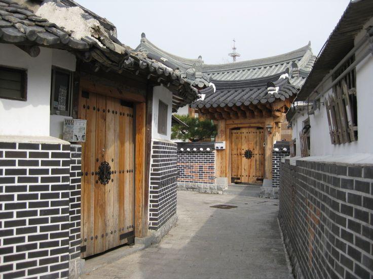 Jeonju Korean traditional village