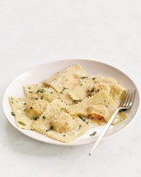 Easy Ravioli Recipe from Food & Wine: Italian Food, Food Recipets, Ravioli Recipe, Easy Food, Food Pasta, Recipe Foodandwine, Easy Ravioli, Easy Pasta, Food Wine