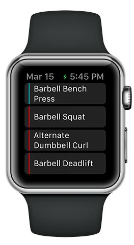 Apple Watch | Fitlist – Workout Log App, Fitness Tracker & Exercise Journal with Routines for Bodybuilding, Weightlifting, Gym & Strength Training