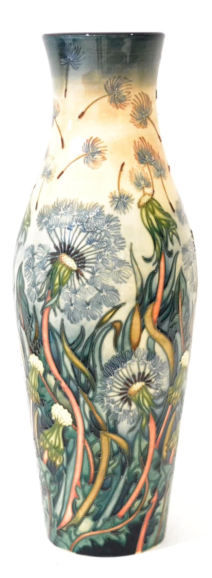 Tennants Auctioneers: A Modern Moorcroft Destiny Pattern Vase