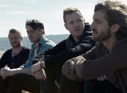 Members of Imagine Dragons are from left: Ben McKee, Daniel Platzman, Dan Reynolds and Wayne Sermon.