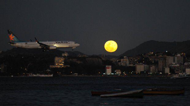 Blauwe maan te zien vannacht