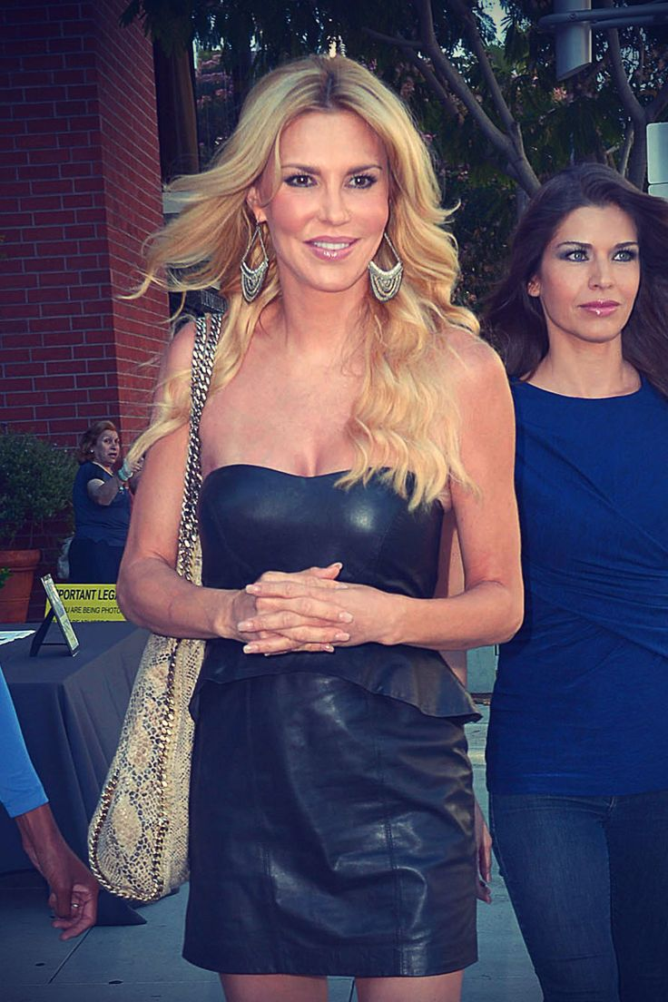 Brandi Glanville attending a party at Kyle Richards Store