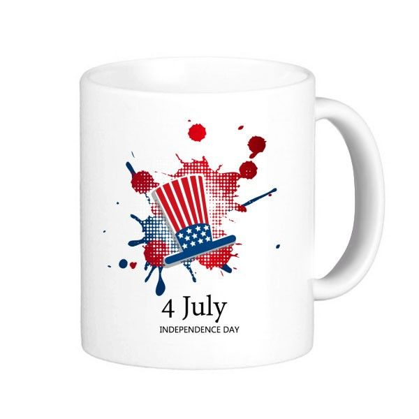 America 4 July Independence Day Mug