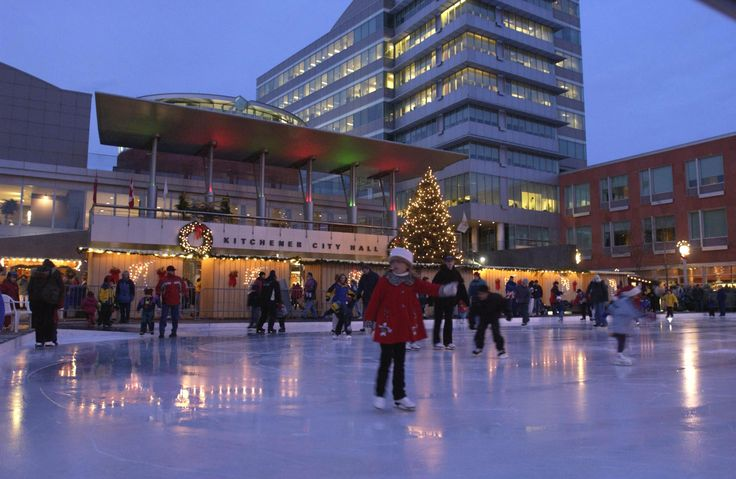 downtown kitchener night time - Google Search