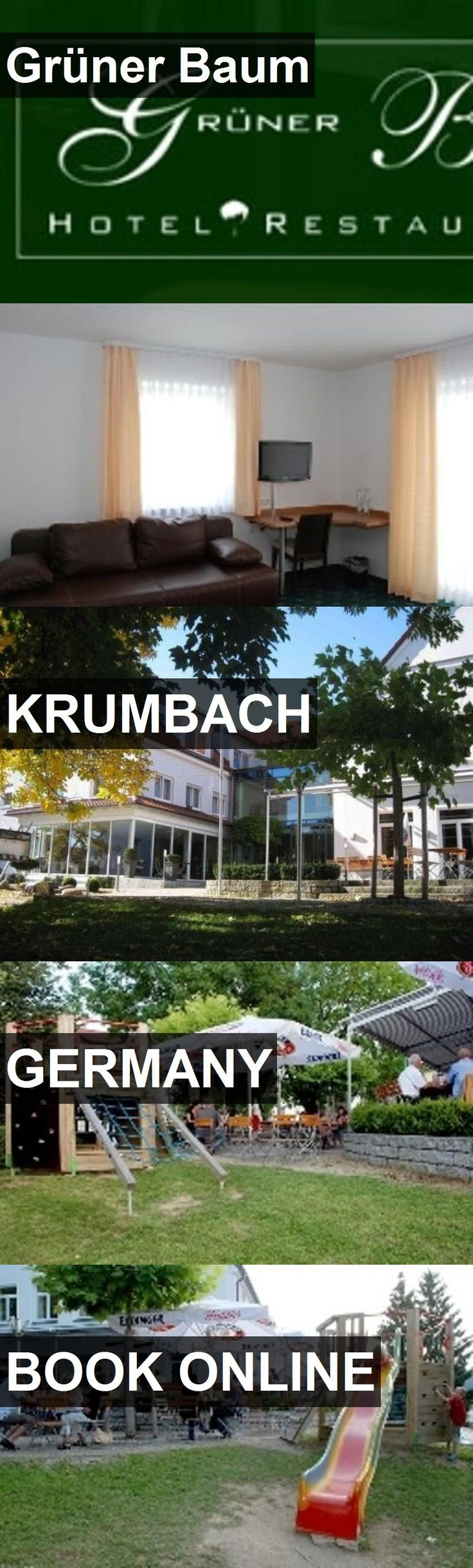 Hotel Grüner Baum in Krumbach, Germany. For more information, photos, reviews and best prices please follow the link. #Germany #Krumbach #GrünerBaum #hotel #travel #vacation