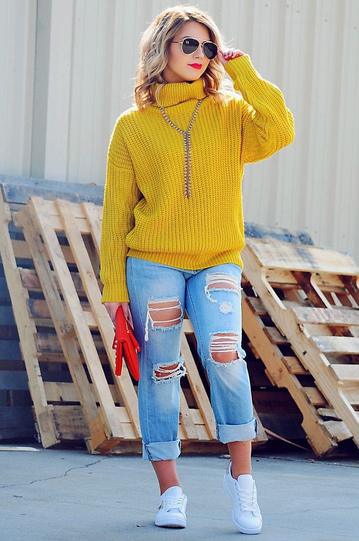 Early Mornings Sweater: Chartreuse #shophopes