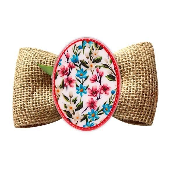 Broșă mărțișor tip pin Flori de câmp