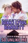 So Unlike Me by Nikki Lynn Barrett My rating: 5 of 5 stars So Unlike Me by Nikki Lynn Barrett – This is Lizette and Dirk's story. Lizette has a twin Nola. Lizette agrees to pretend to b…