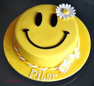 Cherrys Cakes: Happy Face